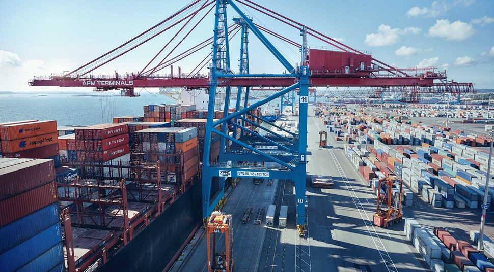 Port Of Gothenburg Container Traffic Up by 20%