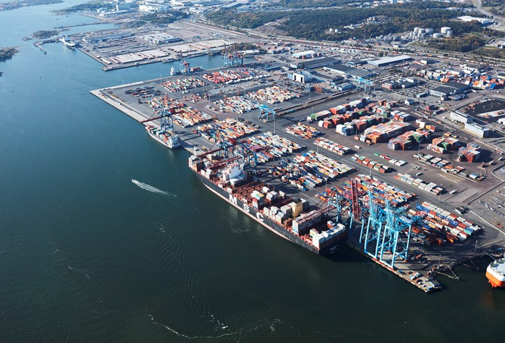 New container freight station now operational