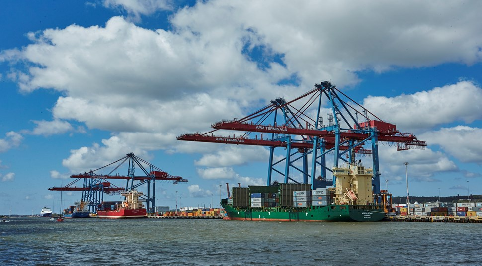 China Shipping Container Lines, Yang Ming and Cosco behind