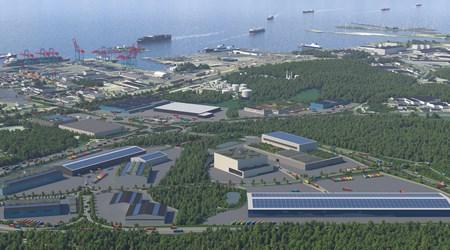 Karta E6 Goteborg.Warehousing And Logistics